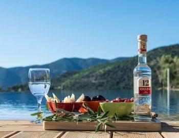 Villa in Lekada Greece Dining Experience