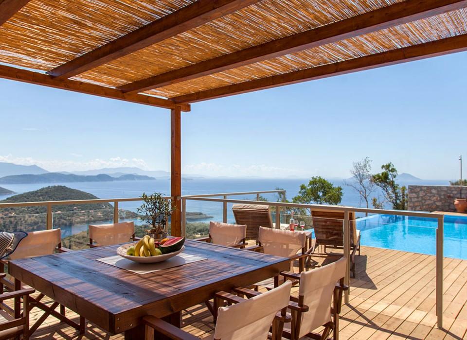villa, sivota, lefkada, greek island