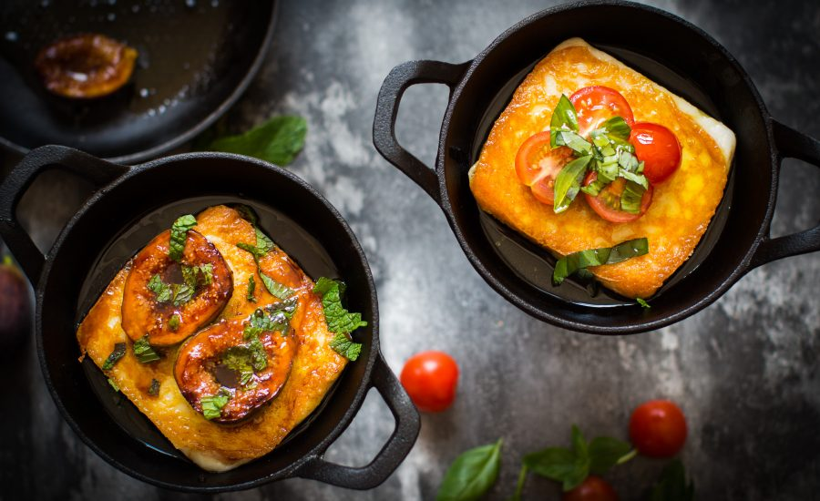 private-chef-greece-saganaki-cheese