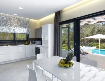 villa-acastel-corfu-greece-fully-equipped-kitchen-dining-area