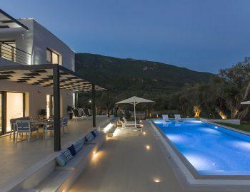 villa-acastel-corfu-greece-pool-night-view