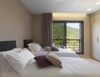 villa-dion-corfu-greece-double-bedroom-view