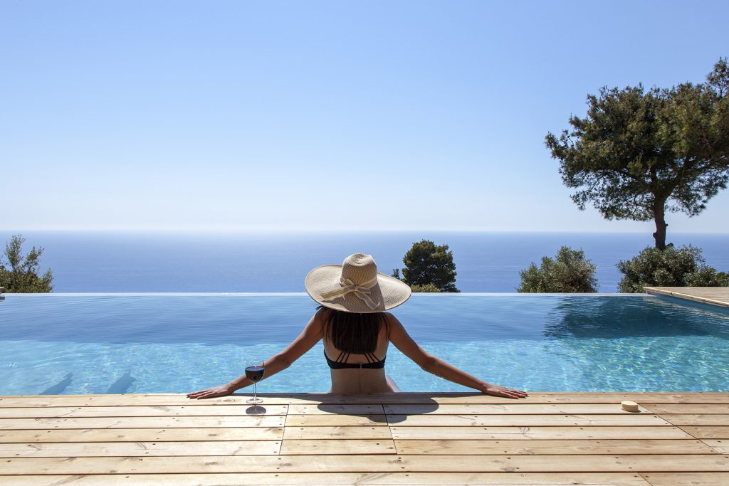 villa-mirtes-athani-lefkada-girl-pool-sea-view-feature-photo