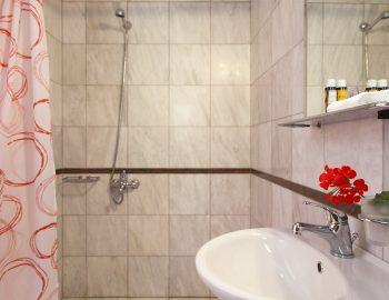 Bathroom 3: Ensuite bathroom with shower in bedroom 4