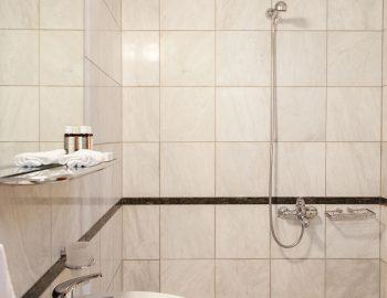 Bathroom 2: Ensuite bathroom with shower in bedroom 3