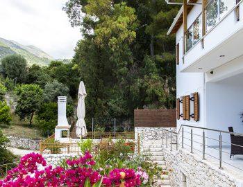 Entrace into the villa
