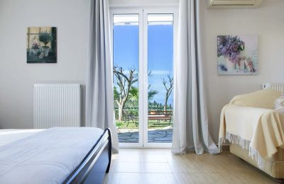Villa-Aliki-in-tsoukalades-lefkada-greece-bedroom-with-garden-view