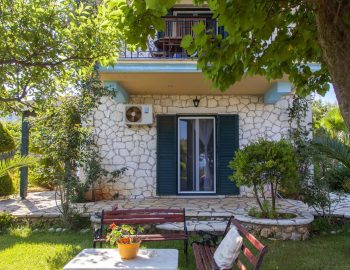 Villa-Aliki-in-Lefkada-Greece-with-outdoor-seating-in-the-garden-area