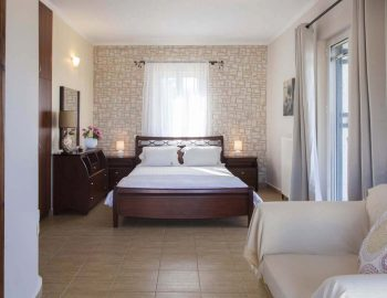 Villa-Aliki-in-Lefkada-Greece-luxury-master-bedroom-with-private-balcony