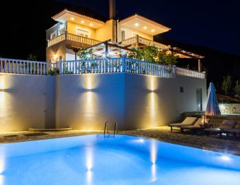 Villa-Dream-Vasiliki-Lefkada-Night-View
