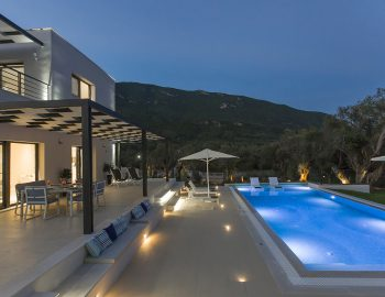 villa-acastel-corfu-greece-pool-night-view