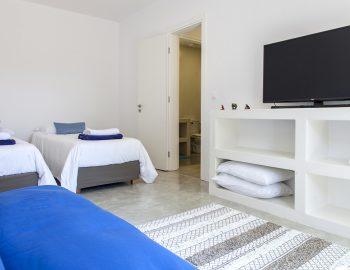 villa-galini-mikros-gialos-lefkada-greece-twin-bedroom-with-sofabed-smart-tv