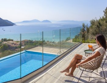 villa-irene-vasiliki-lefkada-lefkas-girl-overlooking-private-pool-sea-view