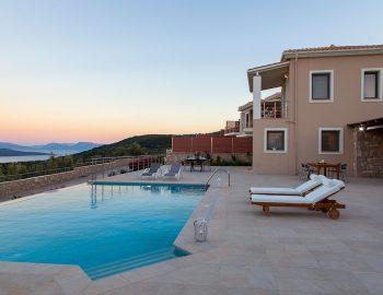 villa-kallisto-lefkada-apolpena-outdoor-pool-night-view