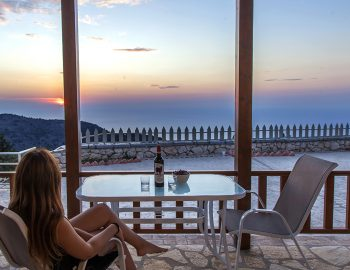 villa-vissala-paeonia-accommodation-lefkada-lefkas-xortata-girl-sitting-looking-at-sunset